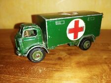 ORIGINAL DINKY TOYS  BEDFORD AMBULANCE MILITARY 626 1/43