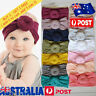 Baby Newborn Elastic Cotton Turban Hairband Headband Stretch Knotted Head Wrap C