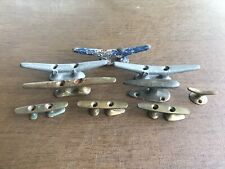 Lot Of Vintage Boat Rope Cleats