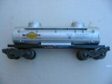 VINTAGE LIONEL 6465 SUNOCO TWO DOME TANK CAR BUILT 1948-56