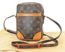 Authentic LOUIS VUITTON Danube Monogram Crossbody Shoulder Bag Purse #36706