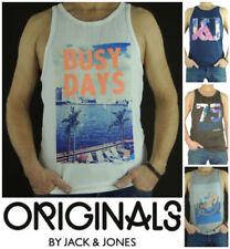 JACK & JONES Herren-T-Shirts mit Rundhals-Basic