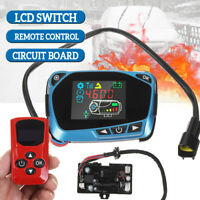 12V/24V Car Diesel LCD Parking Air Heater Switch Circuit Board w/ Remote Control