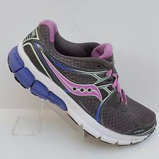 Saucony Mystic Running Shoes Gray Purple Womens Size 8 S15248-5