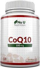 Coenzym Q10 100 mg CoQ10-Nahrungsergänzungsmittel 120 Kapseln