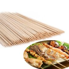 30cm 150 Bamboo Skewers Sticks BBQ Barbecue Party Grill Kebab Shish Fruit Wooden