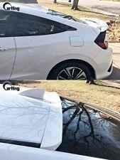 2016+ Painted Honda Civic 10th Gen. 2-Door Coupe H-Design Window Roof Spoilers