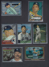 Mickey Mantle 1996 Topps Finest Reprint Complete 19 Card set