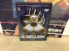 WWE - Rebellion (DVD, 2003) Tested! Works!