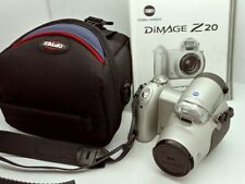 Beautiful Design Minolta DiMage Z20 5Mp Digital Camera w/Case Like New
