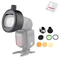 Godox AK-R1 Round Head W/ Godox S-R1 Adapter For Godox V860II V850II TT685 TT600