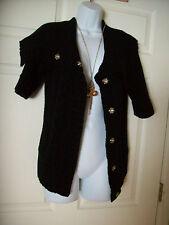 Womens Express Jacket sweater Button Up Shall Cover Up Big Buttons Medium 6 8 10