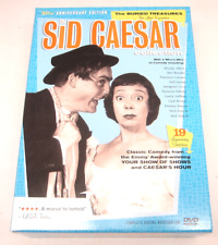 Sid Caesar Collection Buried Treasures Comedy DVD Set Like New