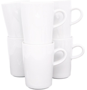 Kahla Five Senses 6 x Kaffeebecher Macchiatotasse 0,35 Liter Becher Henkelbecher