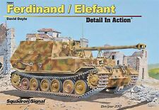 Squadron Signal Publications Ferdinand / Elefant Detail in Action Hardcover Book
