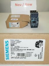 SIEMENS SIRIUS 3rt2 PROTEZIONE 3-polig, 18,5 Kw 110 V 3rt2028-2af00 CONTATTORE