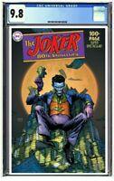 Joker 80th Anniversary Special #1 CGC 9.8 Graded David Finch Variant PreOrder