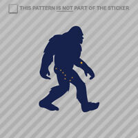 Alaska Bigfoot Sticker Self Adhesive Vinyl AK big foot sasquatch yeti
