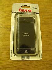 Hama 104586 Silicone Trasparente Custodia Apple iPhone 4G