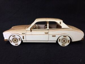 Laser Cut Wooden MK1 Ford Escort 3D Model/Puzzle Kit