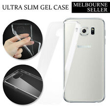 Ultra Slim Clear Transparent GEL Case Cover for Samsung Galaxy Note4