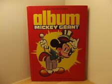 Album Mickey Géant collection bibliothèque 1534 bis 1982