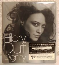 Hilary Duff - Dignity - Japan Limited Edition CD+DVD+52P Photo Book w/Slip Case