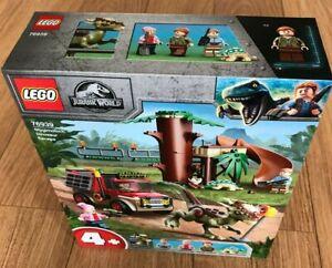 Lego 76939 Jurassic World Stygimoloch Dinosaur Escape 129 pieces ~Brand New