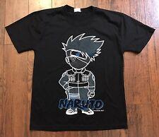 Naruto Anime Kakashi T Shirt Sz S/M Ninja Shippuuden Hokage Leaf Village
