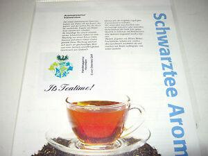 "Eistee-Schwarztee, lose ""Ice Tea-classic-""TNr.181 (32,50€/kg); MHD  ca.23 Monate"