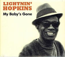 CD - LIGHTNIN' HOPKINS - My baby's gone