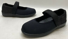 Orthofeet Gel Womens Black Fabric Mary Jane Comfort Shoes Size 11.5
