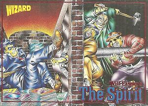 THE SPIRIT - WILL EISNER - 1992 WIZARD PROMO CARD
