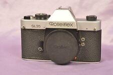 Rollei SL35 Chrom  / Spiegelreflex Body SLR        2