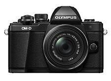 Olympus OM-D E-M10 Mark II Mirrorless Digital Camera & 14-42mm II R Lens Black
