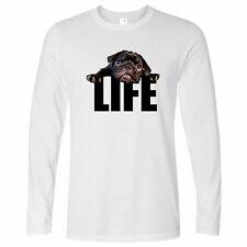 Cute Dog Long Sleeve Pug Life Puppy Cute Animal Lover Best Friend T-Shirt