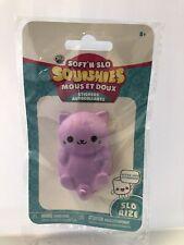 Orb SOFT 'N SLO Squishies Stickers Purple Cat (New)