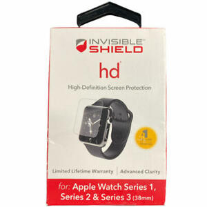 ZAGG InvisibleShield HD Screen Protection HD Clarity for Apple Watch