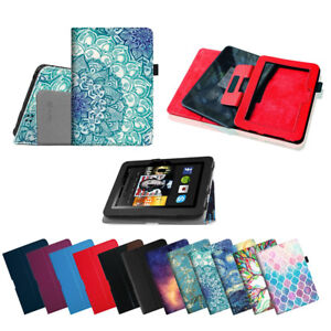 """For Amazon Kindle Fire HD 7"""" (2012 Old Model) Case Folio Leather Stand Cover"""