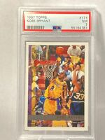 1997-98 Topps Topps Kobe Bryant Base 2nd Year #171 PSA 7 NM LA Lakers New!