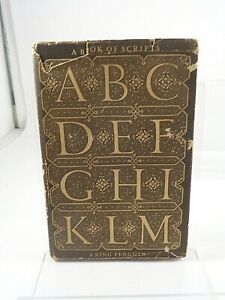 A book of scripts by Alfred Fairbank. 1960 edition, King Penguin Books