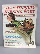 The Saturday Evening Post Norman Rockwell, Special Automobile Issue Nov. '76