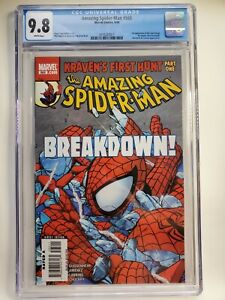 Amazing Spiderman 565 NM CGC 9.8 NM , 1st Appearance of New Kraven New Case