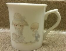 Enesco Precious Moments Month Of May Mother'S Day Ceramic Cup 1986 Sam Butcher