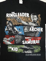 The Walking Dead TWD Michonne Daryl Dixon Rick Grimes Carl Grimes T-Shirt
