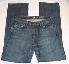 7 For All Mankind Womens Bootcut Jeans 30 Denim Pants Boot Cut