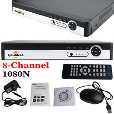 8CH 1080N CCTV H.264 DVR Video Recorder Cloud P2P 2GB Ram Security 5 In 1 HD AV