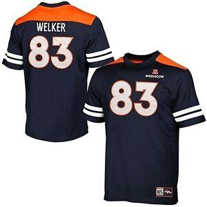 Denver Broncos Wes Welker #83 NFL Majestic Hashmark Jersey Mens Big & Tall Sizes