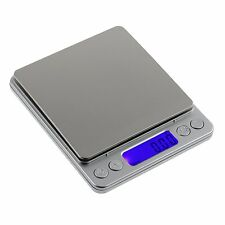 Modern Digital LCD Kitchen Food Weighing Postal Scales Balance Planar 0.01g-500g