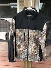 Buck Wear Hunting Lightweight Jacket Mens Sz L Realtree Hardwoods Camo $28